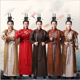 soldier women costume 2019 - chinese Ancient new men chinese ancient general Tang clothing armor Hanfu soldiers stage performance suit ethnic cosplay
