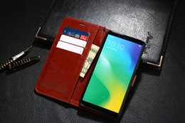 Discount oppo original case For OPPO A79 Case Original Colorful Wallet Flip Cover Cute Ultra-Thin Slim Luxury Leather Case For OPPO A79