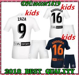 2018 2019 FUTBOL Camiseta Jérsei De Futebol De Ouro De Ouro Crianças kit De Camisas De Futebol Chandal Valencia Jersey Valencia CF