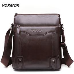 $enCountryForm.capitalKeyWord Canada - VORMOR Brand Fashion PU Leather Men's Messenger Bags Portfolio Office Men Bag, Quality Travel Shoulder Bag Handbag for Man