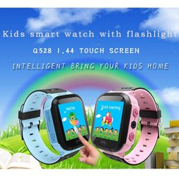 apple watch kids children 2019 - Cute Sport Q528 Kids Tracker Smart Watch with Flash Light Touchscreen SOS Call LBS Location Finder for Kid Child Pink Bl