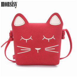 Discount kids small pouch - Monsisy Winter Cat Baby Girl Coin Purse Children Wallet Small Change Purse Kid Bag Coin Pouch Bag Toddler Money Handbag