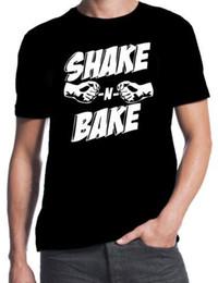 ff0933f95 Talladega Nights Ricky Bobby Shake N Bake Funny Car Racing Movie Mens T- Shirt Cartoon Print Short Sleeve T Shirt Free Shipping