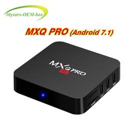 $enCountryForm.capitalKeyWord Australia - Mxq Pro 4K Android ott TV Box Smart Android 7.1 RK3229 Quad Core 1GB 8GB EMMC Flash WiFi 4K 3D HDMI 2.0 Media Player