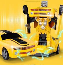 $enCountryForm.capitalKeyWord Canada - 1PC 1:18 Remote Control Car Transformerring Robot 2.4G 4WD Wheels Drive Off-Road RC Car 4WD battery-powered Climbing Car RTR Kids Toys