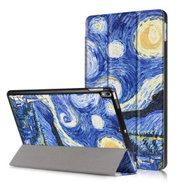 wholesale printing ipad covers 2018 - 20pcs PU Leather Case Flip Cover for Apple iPad Pro 10.5 inch Smart Cover with Auto Sleep Wake Up Function+Pen cheap who