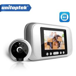 "digital video intercom 2018 - 3.2"" LCD Digital Peephole Viewer PIR Door Eye Doorbell Video Intercom HD 720P 960P IR Camera Night Vision PIR Motio"