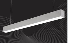 Bay Pc Australia - Free Shipping 2018 Hot Selling Energy Saving 30W 1200MM Aluminum PC Factory Warehouse Led Linear High Bay Light WW NW CW