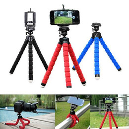 Wholesale Drop Ship Universal Octopus Stand Tripod Mount Holder for iPhone Samsung Huawei Xiaomi Cell Phone Camera In