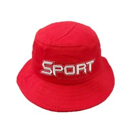 Child Bucket Hat Unisex Sport Embroidery Fisherman Cap Outdoor Spring  Autumn Hat Boys Girls Kids Child Cap Hat G039 8169253c05cd