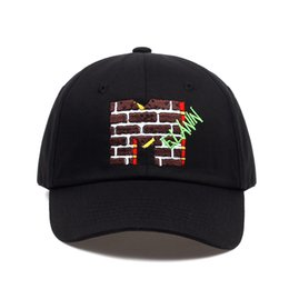 2018 new brand Melanin Embroidery Dad Hat men women slouch Cotton Baseball  Cap curved bill ADJUSTABLE BUCKLE RETRO SUMMER 86448319646b
