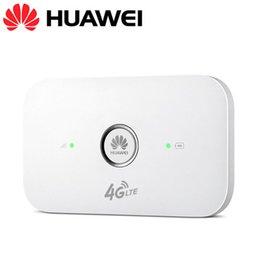 UNLOCKED HUAWEI E5573Cs-609 4G LTE 150 Мбит / с Высокоскоростной мобильный мини-Wi-Fi маршрутизатор 3G-модем