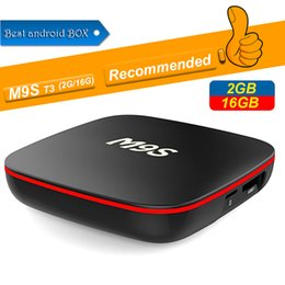 $enCountryForm.capitalKeyWord Australia - New M9S T3 Android 7.1 Tv Box Quad Core 1GB 8GB 2GB 16GB H3 Chip Support Wifi 4K 3D Media Player Smart Tv Box Better MXQ PRO RK3229 S905W T9