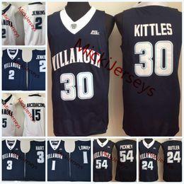c68986543c7 Villanova Jersey Canada - NCAA Villanova Wildcats Josh Hart College  Basketball Jersey Kris Jenkins Ryan Arcidiacono