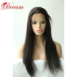 """$enCountryForm.capitalKeyWord Australia - Dream 8A Full Lace Wigs with Baby Hair Around Human Hair Wig Cheap Wholesale Price Density 150% Best Quality 8"""" to 24"""""""