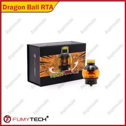 $enCountryForm.capitalKeyWord Australia - New Original fumytech Dragon Ball RTA 24mm Electronic Cigarette 5.5ml e-cig tank with 810 drip tip