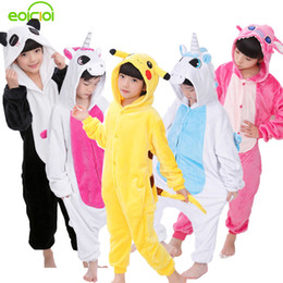 c2e4a01ff5d3 Panda Onesie NZ - EOICIOI New Baby Boys Girls Pajamas Autumn Winter  Children Flannel Animal funny