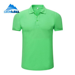 Discount sports polo shirts wholesale - Stylish Outdoor Button Down Quick Dry Tennis Golf Running T-shirt Women Breathable Short Sleeve Sport Camping Hiking Pol
