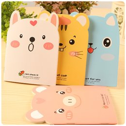 small notebook pads 2019 - Free ship!1lot=40pc!Creative stationery   cute little pig copybook   small animal notebook cartoon writing pad discount