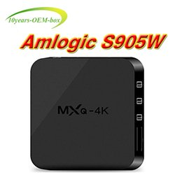 Best Android Tv Canada - Hot OEM Best MXQ Pro 4K Android 7.1 TV Box RK3229 Amlogic S905W Android 7.1 With custom Support arabic iptv stream better X96 T95M T95X T95N