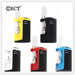 $enCountryForm.capitalKeyWord NZ - ECT Mico Kit Best E Cigarette Oil Cartridge Mod Kits Electronic Cigarette Vape Starter Kits 350mAh Variable Voltage Battery 0.5ml Atomizer