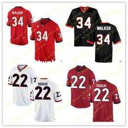 $enCountryForm.capitalKeyWord NZ - Cheap Mens 22 Brendan Douglas Jersey 34 Herschel Walker Georgia Bulldogs Alumni Stitched Red White Football Jerseys Big And Tall For sale