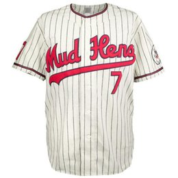 Chinese  Toledo Mud Hens 1965 Home Jersey 100% Stitched Embroidery Logos Vintage Baseball Jerseys Custom Any Name Any Number Free Shipping manufacturers