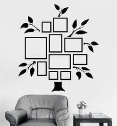 Tree Sticker For Blue Wall Australia - Frames For Photos Wall Decal Removable Wallpapers for room decor Photo Tree Wall Vinyl Sticker