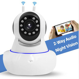 Pan hd iP camera audio online shopping - Home Security IP Camera Wireless Smart WiFi Camera WI FI Audio Record Surveillance Baby Monitor HD Mini CCTV Camera