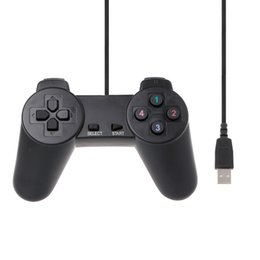 usb game controller for pc gamepad 2019 - USB 2.0 Wired Multimedia Gamepad Gaming Joystick Joypad Wired Game Controller For Laptop Computer PC cheap usb game cont