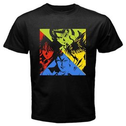 T-shirts Yu Yu Hakusho Classic Shounen Anime Tee Manga T-shirt New T Shirts Funny Tops Tee New Unisex Funny High Quality Casual Printing And To Have A Long Life.