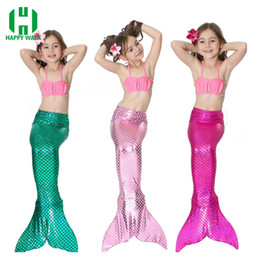 blue latex costume 2019 - tail design 2019 Factory Unique Design Direct Sale 23 Colors Costume Cosplay Bikini Gift Children Swimsuit Mermaid Tail