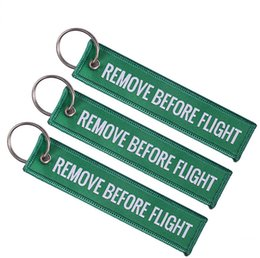 $enCountryForm.capitalKeyWord UK - Cheap Coloured Embroidered Letter Key Chain Key Ring Aviation Jewelry Luggage Tag Car Key Rings For Men And Women Using K092101