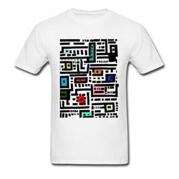 7f08e1e8 T Shirt Shop 2018 Urban Cat Affairs Cartoon Simple Drawing Print Men White  T-shirt Natural Cotton Tops & Tees Novelty