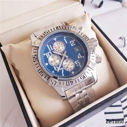 $enCountryForm.capitalKeyWord Australia - Mens Watches Stainless Steel Quartz Wrist Luxury Watch relogies for men relojes Best Gift All Subdials Work Wholesale Free Shipping