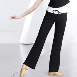 8de4f91711238e Yoga Flare Pants High Elastic Waist Draw String Sports Yoga Pants Fitness  Clothing Dance Trousers Running