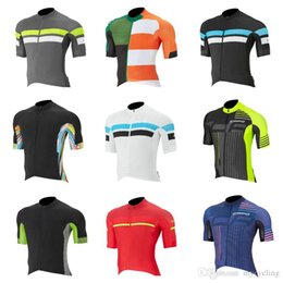Bicycle Riding Shirts NZ - Ropa Ciclismo 2018 Capo Men Cycling Clothing Mountain Bike Maillot road Bicycle Shirts breathable Cycling Jersey Riding Sportswear C2706