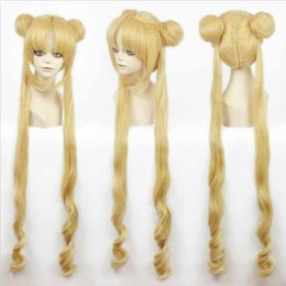China Girl Sailor Moon Cosplay Costumes Wig Tsukino Usagi And Princess Serenity wig>>100% Brand New High Quality Fashion Picture full lace wigs supplier full moon cosplay suppliers