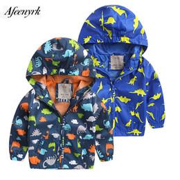 $enCountryForm.capitalKeyWord Australia - Kids Winter Coat Dinosaur Clothing Boys Autumn New Children Wear Cartoon Jackets Fashion Casual Shirt Breathable Sports Cardigan