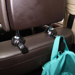 Discount car hidden - 1 Pair Convenient Universal Multi Use Car Back Seat Headrest Hidden Style Hanger Holder Hook Grocery Storage Auto Fasten