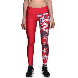 0eea7db6053 Sexy Girl Slim Pant Women Leggings Plus Size Christmas Red camouflage Prints  High Waist Workout Fitness Leggings 0086