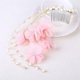 Coral Hair Accessories NZ - Bridal headwear wedding head hair ornament wedding bridle headwear wedding dress and accessories