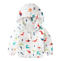 Boys Dinosaur Jacket Australia - Dinosaur Jacket For Boy Clothing Coat Long Sleeve Baby Boys Coats Autumn Kids Boy Jacket Hoodies