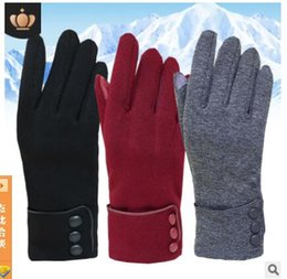 Wind Gloves Australia - Outdoor Sport waterproof Telefingers Ski Gloves in Winter, Touch Screen and Wind Protection for Men and Women