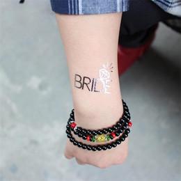 c8b633c4f Fairy tattoos online shopping - Waterproof Bride Tattoo Stickers Silver  Pressed Sweat Proof Hand Sticker Eco