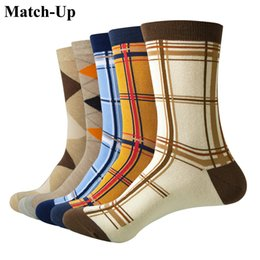 Wholesale mens funny socks for sale – custom Match Up Casual Mens Socks With Design Funny Socks Gradient Fashion Designer Style Cotton pairs