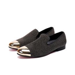 $enCountryForm.capitalKeyWord UK - Fashion Business office shoes gold toe dress shoes for men new style slip-on rivet Oxfords Men size 38-46