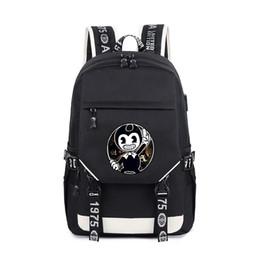 anime Children Kids Game Backpack Bendy School Bagpack for Teenage Boys  students Child School Book Bags b5f5af08b5459