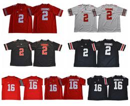 2018 Ohio State Buckeyes College Football Jerseys 16 JT J.T Barrett IV 2  J.K. Dobbins JK 97 Nick Bosa 15 Ezekiel Elliott Football Shirts 66348ce3f