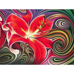 $enCountryForm.capitalKeyWord Australia - Drop shipping flower diamond painting floral diamond kits full cross stitch home decor Wall Art Painting gift free shipping